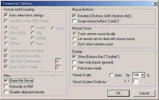 Ultra vnc video hook