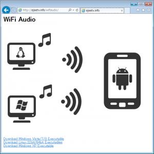WiFiAudio-Web